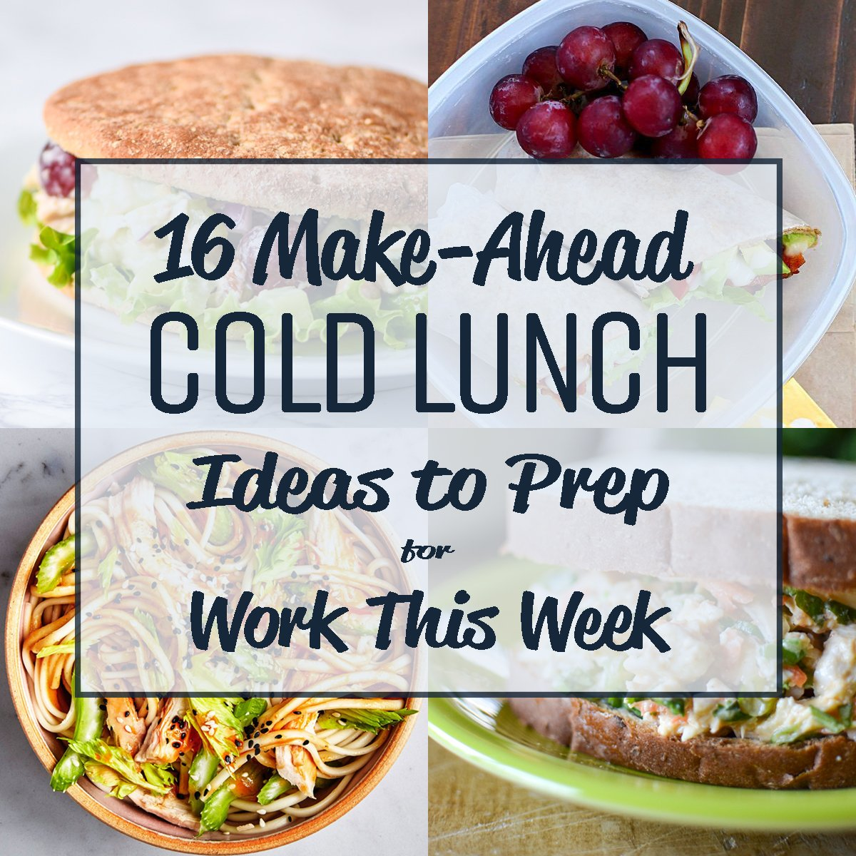 Pictures of Cold Meal Ideas For Lunch