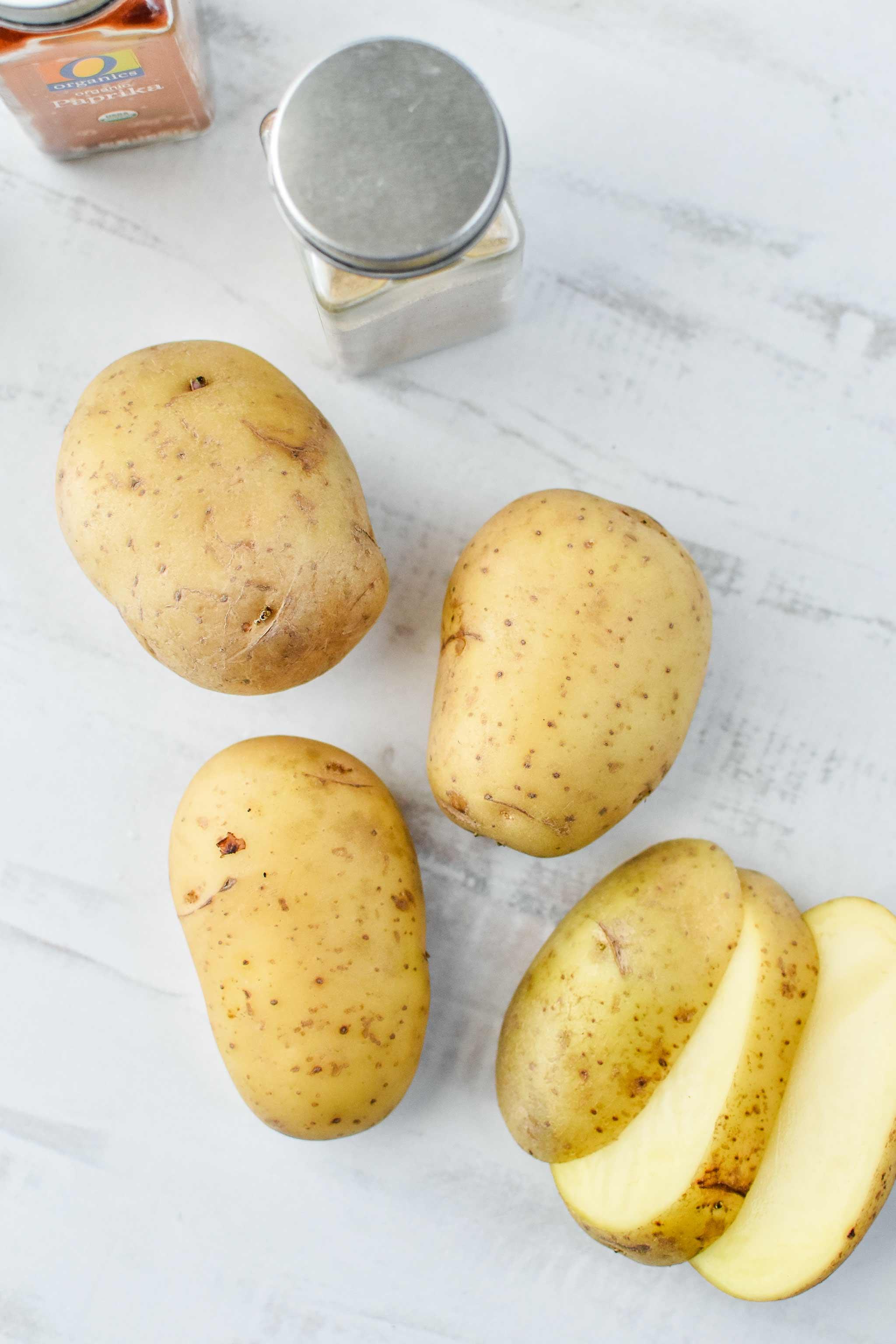gold yukon potatoes for the basic oven breakfast potatoes